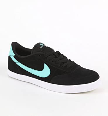 Nike Zoom Leshot LR Skate Shoe - Men's Black/Tropical Twist/White/Black, 10.0