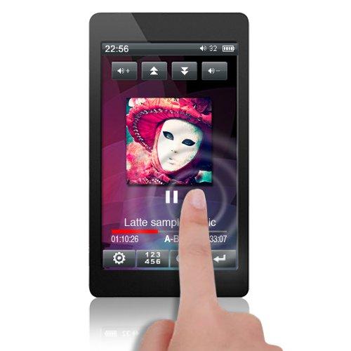 Latte Espresso 4GB Touch Screen Portable MP Player (Gun Metal)
