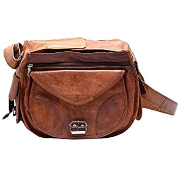 CoolStuff Gypsy Genuine Leather DSLR SLR Vintage Camera Shoulder Messenger Bag Camera Satchel …