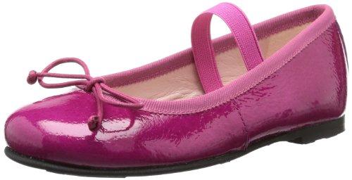 Pretty Ballerinas Girls Pretty Ballerinas Ballet Flats Pink Pink (KLEE TESS) Size: 12 (30 EU)