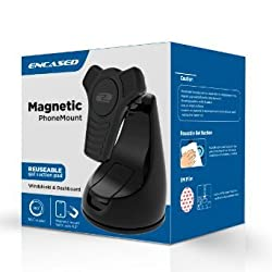 Samsung Galaxy S6 Easy-dock Magnetic Car Mount Holder - Windshield / Dashboard Cradle (Encased® )