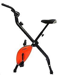 Kobo Magnetic Exercise Bike / Exercise Cycle X-Bike Folding (Orange)