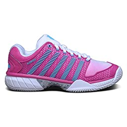 K-SWISS Hypercourt Express HB Ladies Tennis Shoe, Light Pink, US7.5