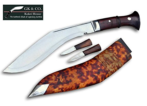 "Genuine Gurkha Kukri Knife - 11""Blade Replica World War Kukri - Handmade By Gk&Co. Kukri House In Nepal."