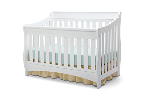 Delta Children Bentley S Series 4-in-1 Crib, White