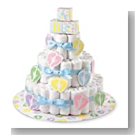 Wilton 1004-3140 Diaper Cake Kit