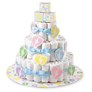 Amazon.com: Wilton 1004-3140 Diaper Cake Kit: Kitchen & Dining