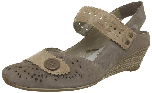 Milly Ladies Taupe Mary Jane Sling Back Shoe Taupe 4 / 37
