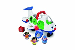 Fisher-Price Little People Lil' Movers Airplane from Fisher-Price