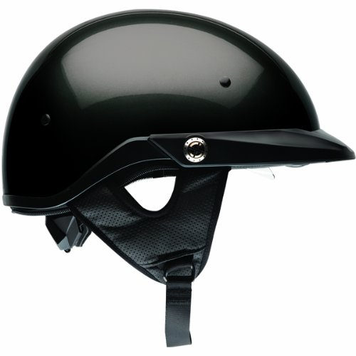 Bell Solid Pit Boss Harley Motorcycle Helmet - Gloss Black / Medium