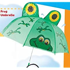 Frog Umbrella Green