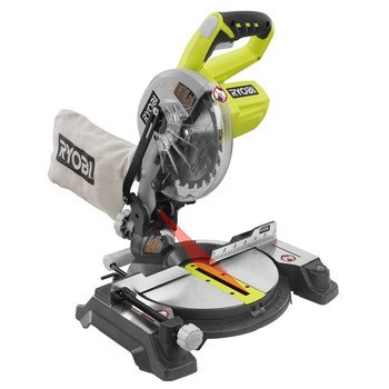 Factory-Reconditioned Ryobi ZRP551 ONE Plus 18V Cordless 7-1/4-in Miter Saw with Laser (Tool Only)