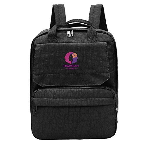 hawaiian-airline-logo-island-girl-backpack-for-men-women-boy-girl-black-daypack-canvas-travel-backpa