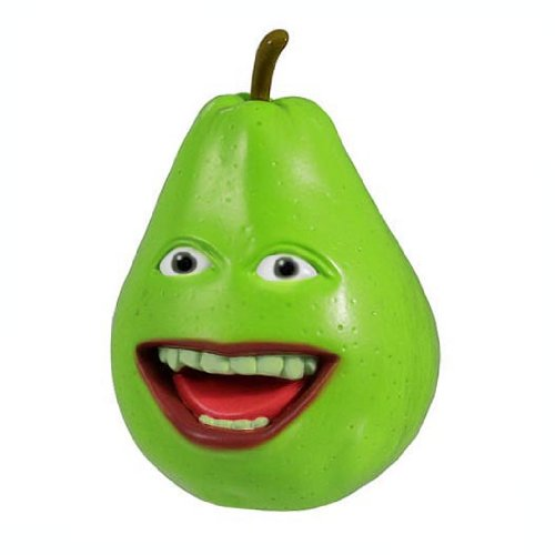 Annoying Orange - Collectible Talking PVC Figure - PEAR (4 inch scale) - 1