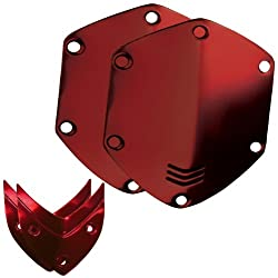 V-MODA Crossfade Over-Ear Headphone Metal Shield Kit (Red)