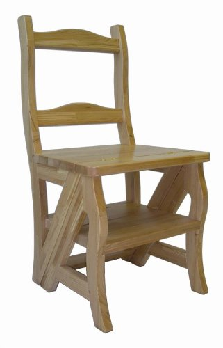 The Nifty Gifter Folding Library Chair Step Stool $75