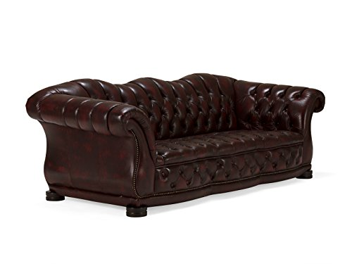 Massivum-10020974-Sofa-Glasgow-3-Sitzer-Echtleder-rot-94-x-215-x-82-cm