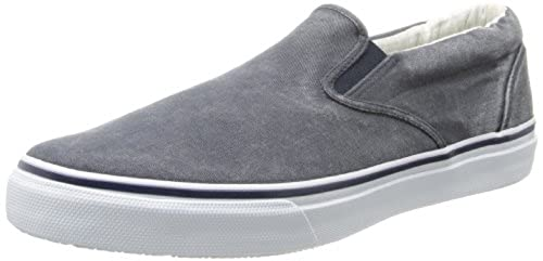 10. Sperry Top-Sider Mens Striper Slip-On Casual Shoes