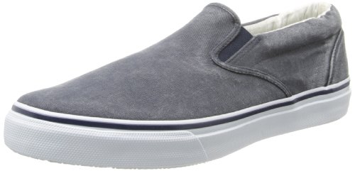 Sperry Top-Sider Men's Striper Slip-On Boat Shoe,Navy,8.5 W US