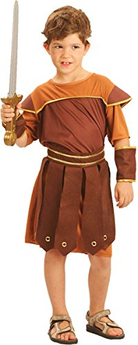 Kids Fancy Party caso Celebration gladiatore soldato romano giorno della settimana Costume UK