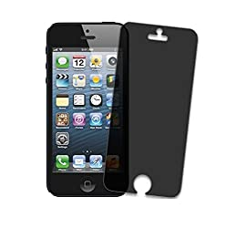 Kapa Privacy Tempered Anti Burst HD Glass Screen Guard Protector For iPhone 4 4S