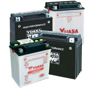 Yuasa Yumicron 12V Battery - YB9A-A/Black