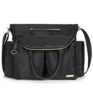Skip Hop Diaper Satchel, Chelsea Downtown Chic