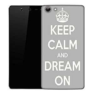 Snoogg Keep Calm and Dream on Designer Protective Back Case Cover For Micromax Canvas Selfie Q348