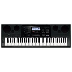 Casio WK7600 76-Key Workstation Keyboard with Power Supply