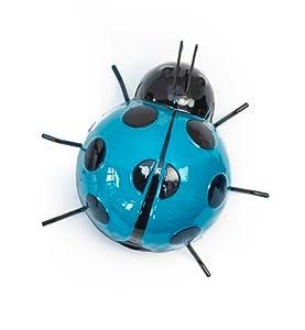 Fountasia International 93615 Medium Ladybird Wall Art - Blue from Fountasia International Ltd