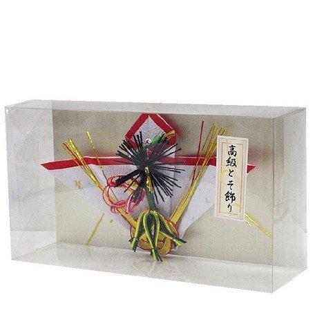 クリアパック《お正月》高級屠蘇飾り(とそ飾り) 松竹梅 1点