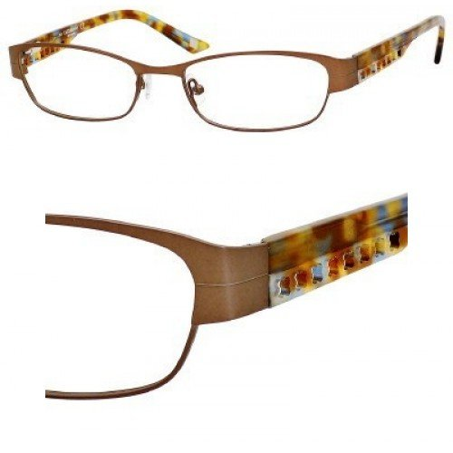 Liz Claiborne 353 Eyeglasses (0FC8) Honey Demi,