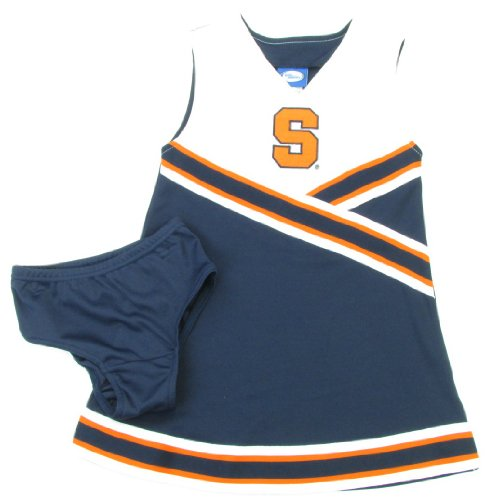 Outerstuff Syracuse Orange Youth Navy Blue Cheer Dress with Bloomers stark outpost 16 2016 blue orange