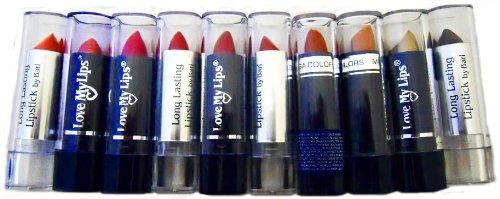 Lipstick - 10pc. Assorted Color Lipstick Set
