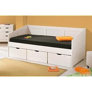 billig links 20900190 sofabett henriette 3 schubladen. Black Bedroom Furniture Sets. Home Design Ideas