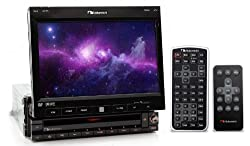 "IN-DV7 - Nakamichi CD/DVD/MP3 7"" Flip Out Touch Screen Multimedia Unit"