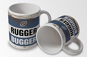 Rugger Bugger - Mug Cup - Rugby shirt look by verytea