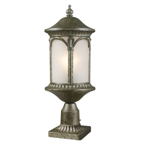 Z Lite 2021phm As Pm Hampton Outdoor Post Light Metal Frame