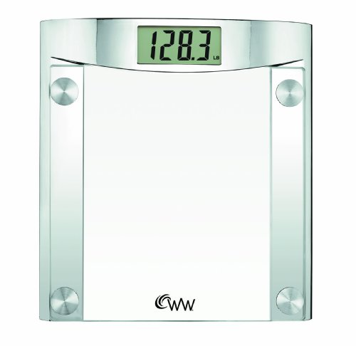 Cheap Weight Watchers by Conair Glass Percision Electronic Digital Scale (WW44)