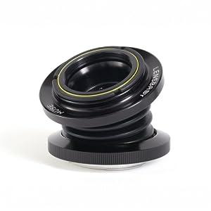 Lensbaby Muse DoubleGlass Objectif pour Canon EF 55 mm
