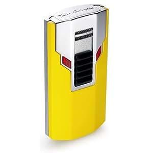 Amazon.com - Tonino Lamborghini Estremo Yellow Torch Flame Lighter