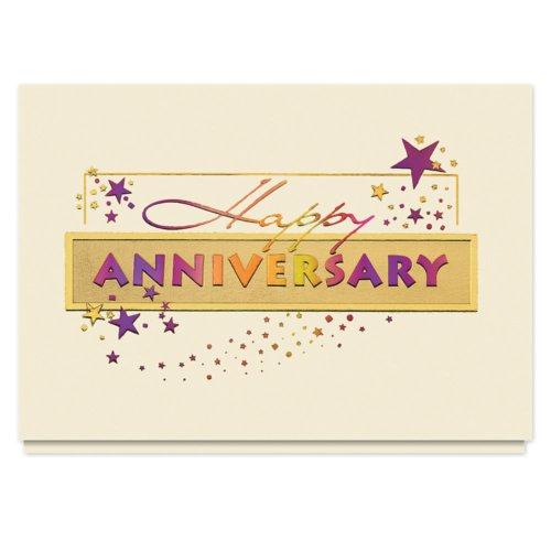 Anniversary Wishes Card - 25 Premium Anniversary