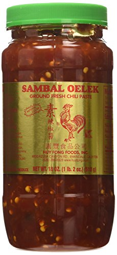 Sambal Oelek Chilli Paste 18oz