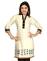 Khadi Jute Cotton Long Long Pakistani Fancy Kurtis