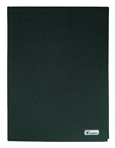Panodia, 275013, Album di buste in polipropilene saldate Zena, 24 buste, 24 x 32 cm, colore: Nero