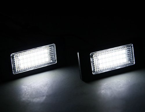 Led License Plate Light Lamp For Bmw 1 3 5 Series X1 X3 X5 X6 M3