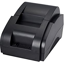 Xprinter XP-58IIH7+1UBT 58MM ( 2Inches) Bluetooth/USB Portable Thermal Receipt Printer for iOS & Android (Black)