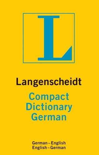 GERMAN COMPACT DICTIONARY (Langenscheidt Compact)