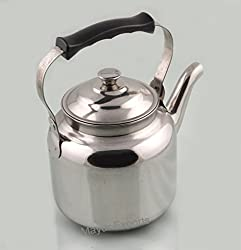 Tea Kettle - 1300 ml-Stainless Steel - Peacock