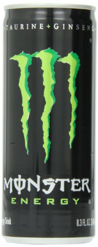 Monster Energy Drink, 8.3 Ounce (Pack Of 24)